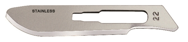 Picture of #22XT Carbon Steel Blades - Box of 100