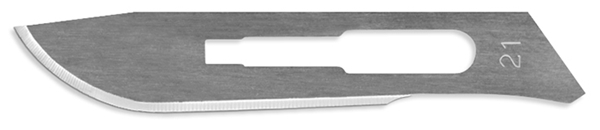 Picture of #21 Stainless Steel Scalpel Blades - Box of 100