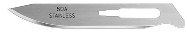 Picture of #60A Stainless Steel Blades - Box of 50